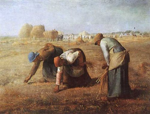 FIG. 66.—MILLET. THE GLEANERS. LOUVRE.