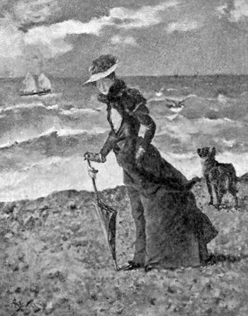 FIG. 80.—ALFRED STEVENS. ON THE BEACH.